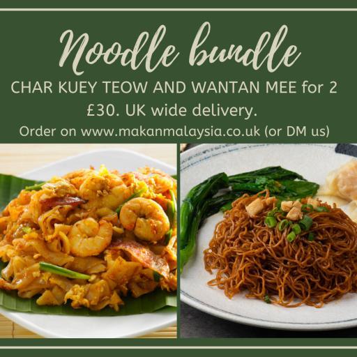 Noodle bundle -CKT and Wantan mee for 2